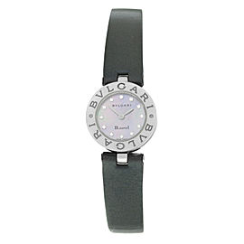 Bvlgari B.zero1 BZ22S Ladies Diamond MOP Stainless Steel Quartz 22MM Watch