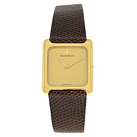 Jaeger LeCoultre 9223.21 Unisex 18K Gold 27MM Mechanical Hand Winding Watch