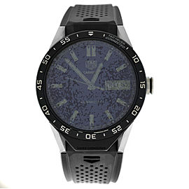 Tag Heuer Connected Modular SAR8A80.FT6045 Titanium PVD 46MM Quartz Smart Watch