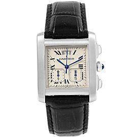 Cartier Tank Francaise W5101455 30mm Mens Watch