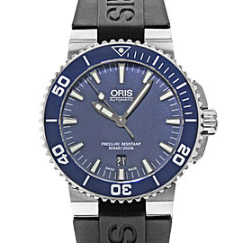 Oris Aquis Date 733.7653.4155RS 43mm Mens Watch