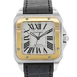 Cartier Santos W20107X7 33mm Unisex Watch