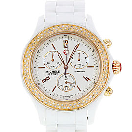 Michele Jetway MWW17B000008 39mm Womens Watch