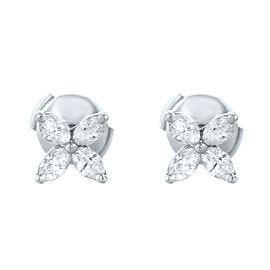 Tiffany & Co. Victoria Diamond Earrings in Platinum