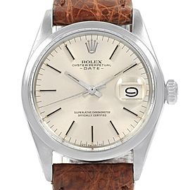 Rolex Date 1500 Vintage 35mm Mens Watch