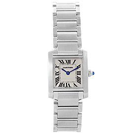 Cartier Tank Francaise W51008Q3 20.0mm Womens Watch
