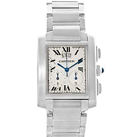 Cartier Tank Francaise W51024Q3 37.0mm Mens Watch