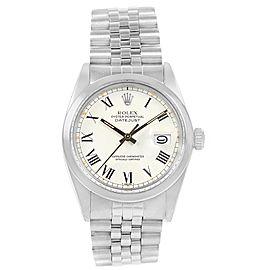 Rolex Datejust 16000 Vintage 36mm Mens Watch