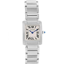 Cartier Tank Francaise W51008Q3 20.0mm Womens Watch