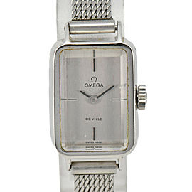 OMEGA de vill cal.485 Silver Dial Hand Winding Ladies Watch