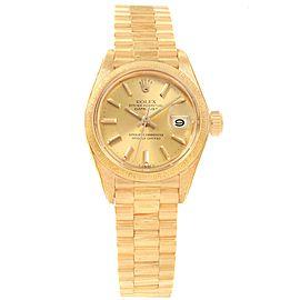 Rolex Datejust President 6917 Vintage 24mm Womens Watch