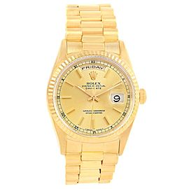 Rolex President Day-Date 18238 36.0mm Mens Watch