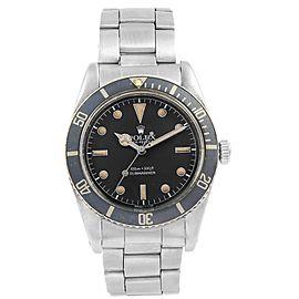 Rolex Submariner Vintage 5500 37.0mm Mens Watch