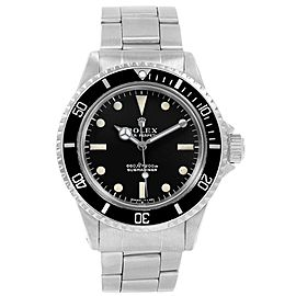 Rolex Submariner 5513 Vintage 40mm Mens Watch