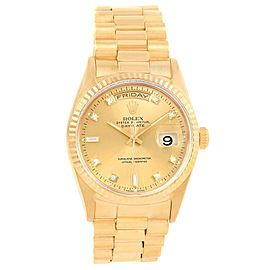 Rolex President Day-Date 18238 36.0mm Mens Watch