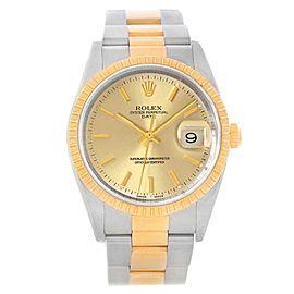Rolex Date 15223 34mm Mens Watch