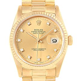 Rolex Date 16238 34mm Mens Watch