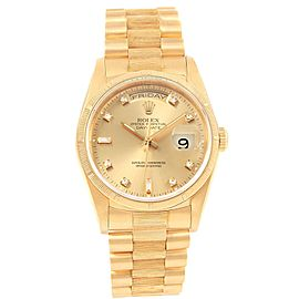 Rolex President Day-Date 18248 36.0mm Mens Watch