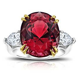 David Gross Platinum Spinel Ring