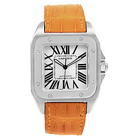 Cartier Santos 100 W20073X8 38mm Mes Watch