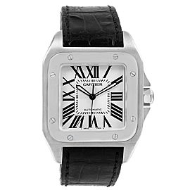 Cartier Santos 100 W20073X8 38mm Mens Watch