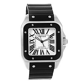 Cartier Santos 100 W20121U2 38mm Mens Watch