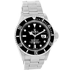Rolex Submariner Date 16610 40mm Mens Watch