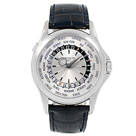 Patek Philippe World Time 5130 39.5mm Mens Watch