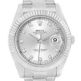 Rolex Datejust II 116334 41mm Mens Watch