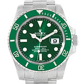 Rolex Submariner Hulk 116610LV 40mm Mens Watch
