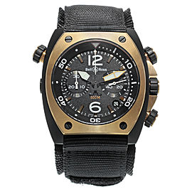 Bell & Ross Marine BR02-CHR-BICOLOR 44mm Mens Watch