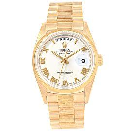 Rolex President Day-Date 18078 36.0mm Mens Watch