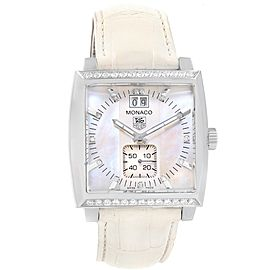 Tag Heuer Monaco WAH1313 37mm Womens Watch