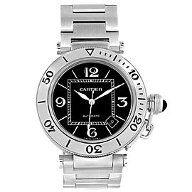 Cartier Pasha Seatimer W31077M7 40.5mm Mens Watch