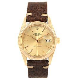 Rolex Date 15037 34mm Mens Watch