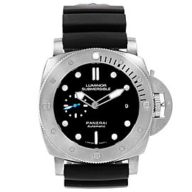 Panerai Submersible Titanio PAM01305 47mm Mens Watch