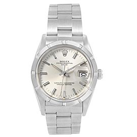 Rolex Date 15010 34mm Mens Watch Vintage 1985