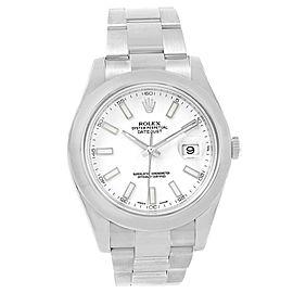 Rolex Datejust II 116300 41mm Mens Watch