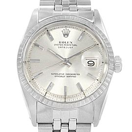 Rolex Datejust 36 Jubilee Bracelet Automatic Vintage Mens Watch 1603