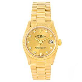 Rolex President Datejust 68278 31.0mm Womens Watch