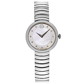 Movado Myla 0607044 28mm Womens Watch