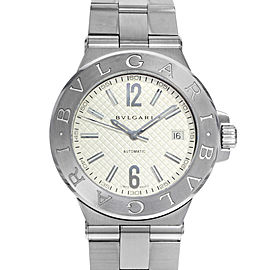 Bulgari Diagono DG40C6SSD 40mm Mens Watch