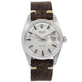 Rolex OysterDate Precision 6694 Vintage 35mm Mens Watch