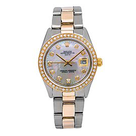 Rolex Oyster Perpetual Date 1500 34mm Womens Watch