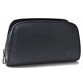 Louis Vuitton Epi Dauphine Cosmetic Pouch Black