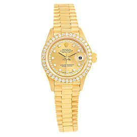Rolex President 69138 26mm Womens Watch