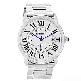 Cartier Ronde Solo XL W6701011 42mm Mens Watch