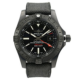 Breitling Avenger II GMT Volcano M3239010/BF04-253S 43mm Mens Watch
