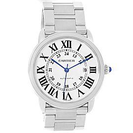 Cartier Ronde Solo XL W6701011 42.0mm Mens Watch