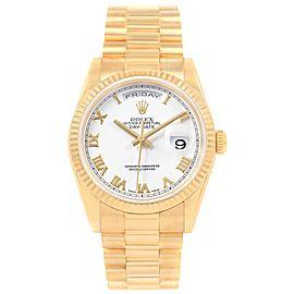 Rolex President Day-Date 118238 36mm Mens Watch